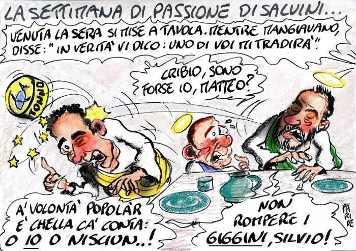 La Passione di Salvini