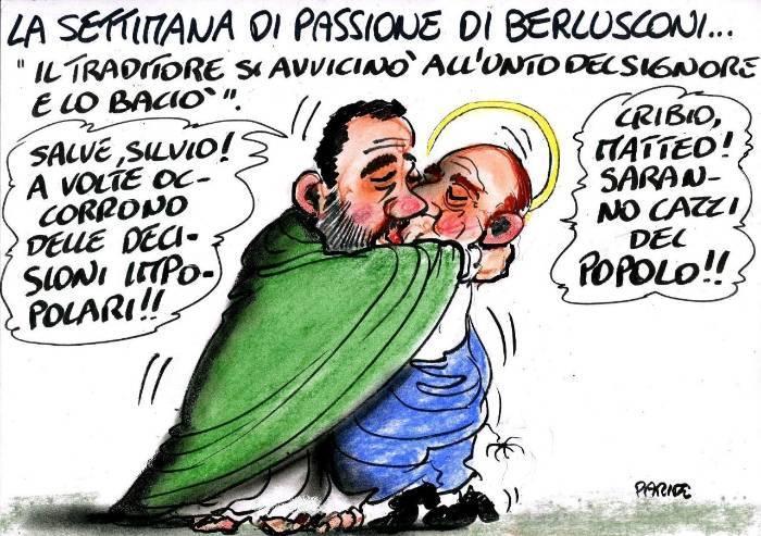 La settimana di Passione di Silvio