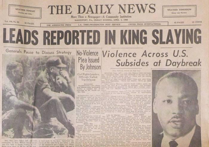 'Luther King, 50 anni fa: puoi uccidere il sognatore, ma non il sogno'