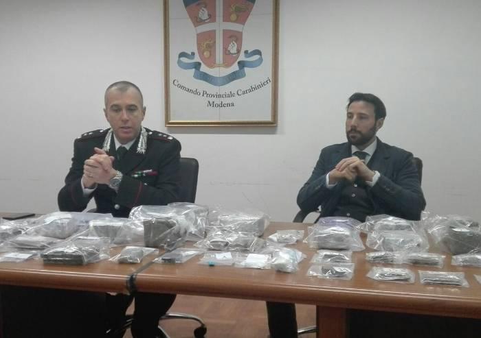 Spaccio: pesce grosso nella rete dei Carabinieri