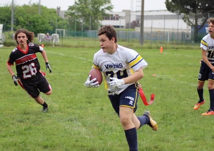 Football, per i giovani Vipers si parte con 2 vittorie e una sconfitta