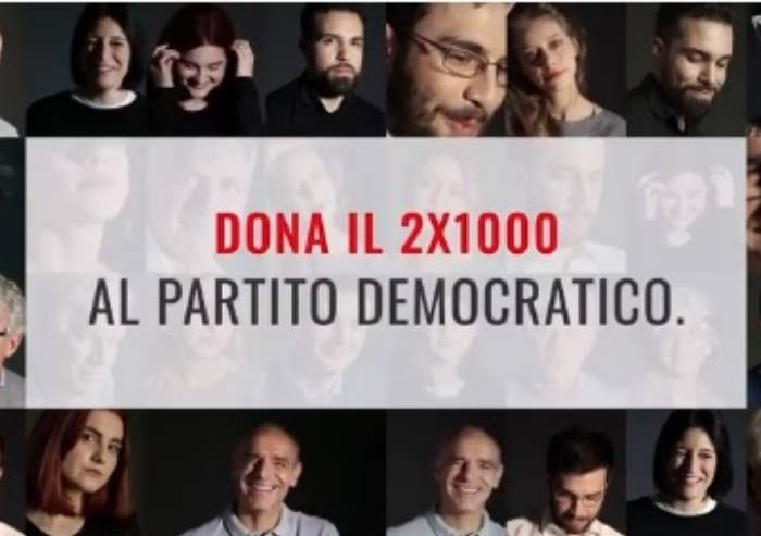 Il PD vuole ripartire con il 2 per mille degli italiani: Harrambee