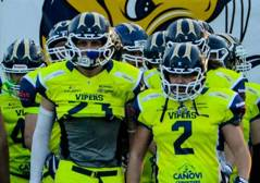 Football americano, vittoria Vipers: playoff conquistati