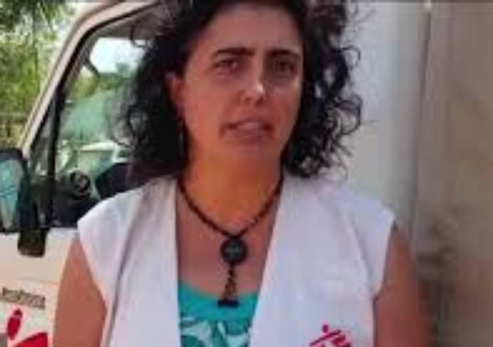 Claudia Lodesani, presidente Medici senza frontiere, orgoglio modenese