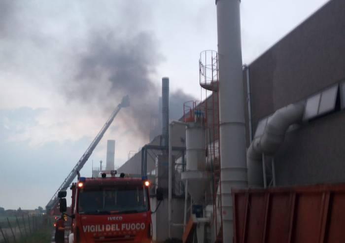 Incendio Ecobloks, inquinanti nei limiti