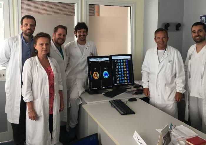 Diagnosi dell'ictus ischemico: nuovo software all'Ospedale Baggiovara