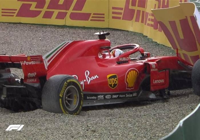 Gran Premio di Germania, Vettel fuori gara: vince Hamilton