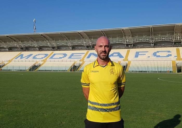 Il Modena calcio riabbraccia Simone Gozzi