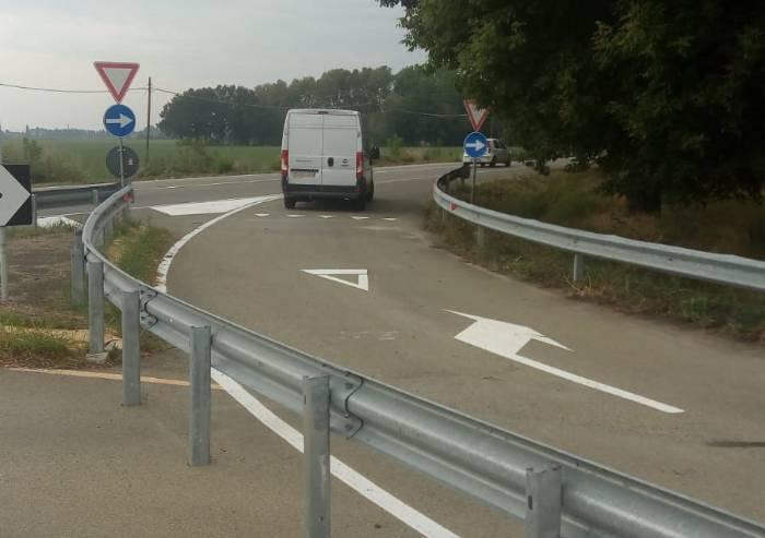 Rotatoria via Canaletto, aperta la svolta per Modena