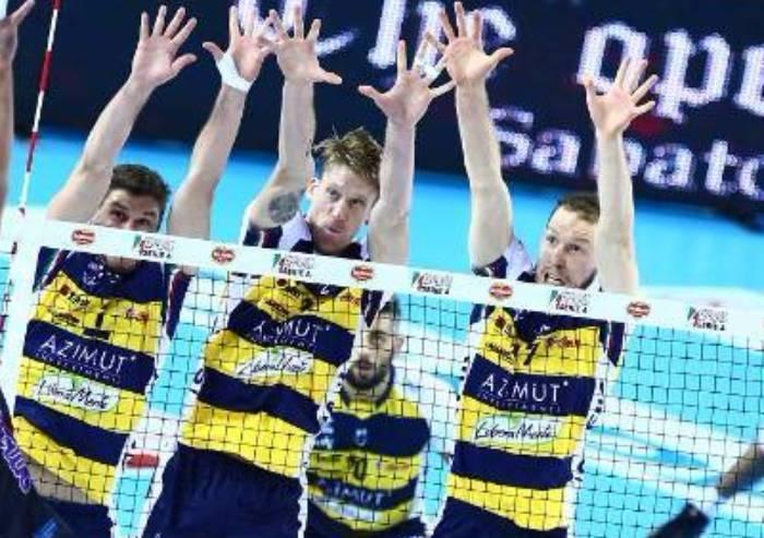 Volley, Modena sarà ancora Azimut