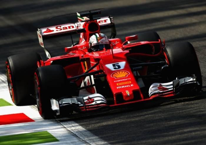Monza, delusione rossa, vince Hamilton