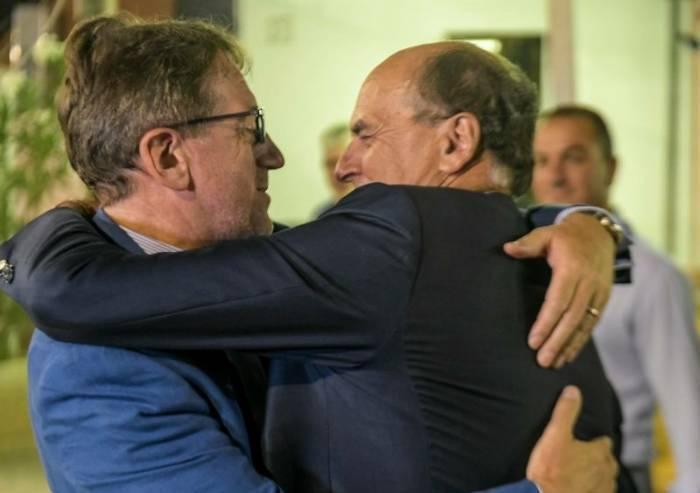 Giravolte Muzzarelli, addio Renzi ora riabbraccia Bersani