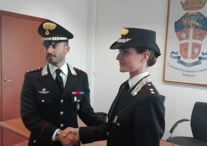 Nucleo radiomobile dei carabinieri, ecco la tenente Fiorentini