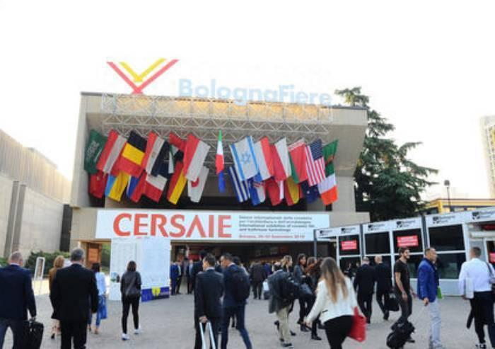 Cersaie 2020 Calendario.Lapressa It Economia A Bologna Apre Cersaie E Sparisce