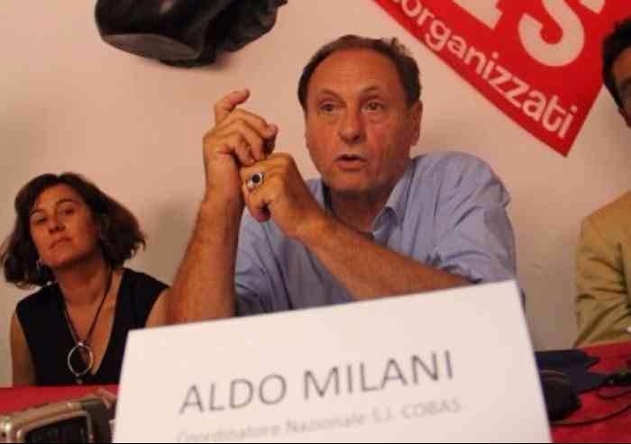Si Cobas: 'Processo ad Aldo Milani? Sciopero ad Alcar Uno'