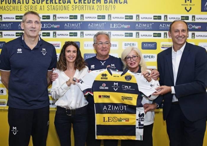 Azimut, si parte: 'Modena gioca sempre per vincere'