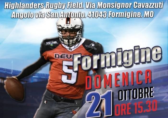 Higlanders Rugby Formigine e Modena Devils gemellaggio solidale