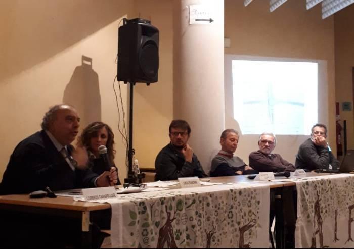 Pedemontana eterna incompiuta: sala affollata ieri a Solignano