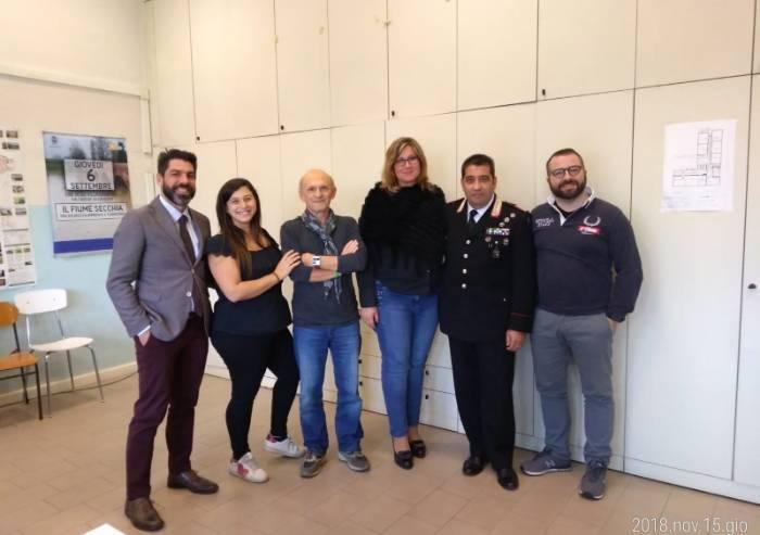 Cavezzo, il luogotenente Gianfranco Favarolo va in pensione