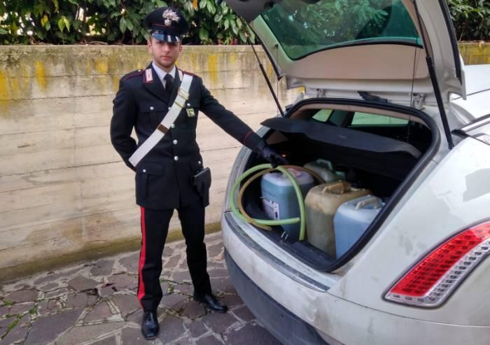 Vignola, autista di bus privati rubava carburante dai mezzi: arrestato