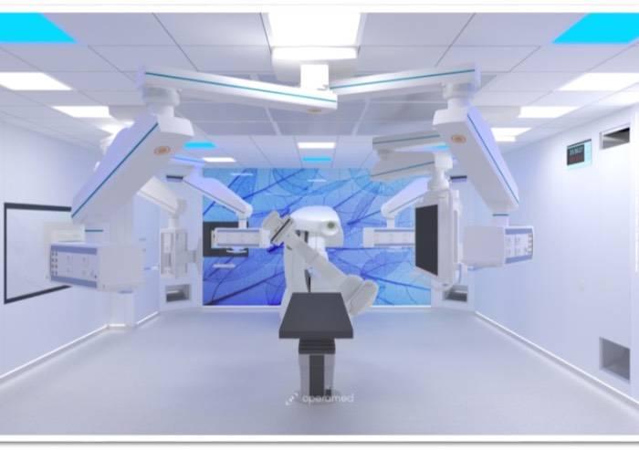 Sanità Modena, sala ibrida terminati i lavori. Attiva nel 2019
