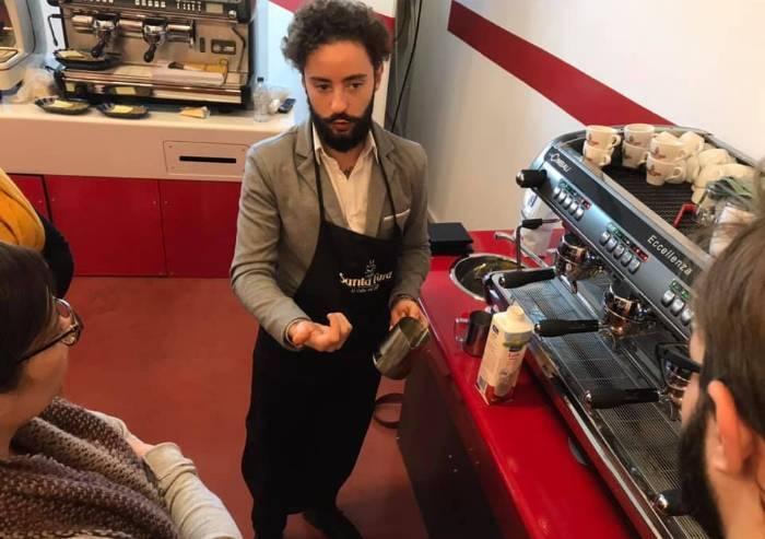 Fare l'espresso? I segreti di Santa Fara Caffè e Andrea Cremone