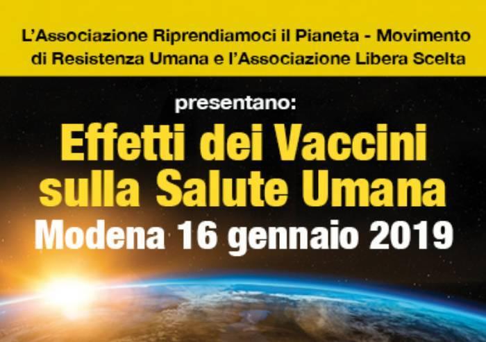 Riparte da Modena la campagna no vax: ecco gli effetti dei vaccini
