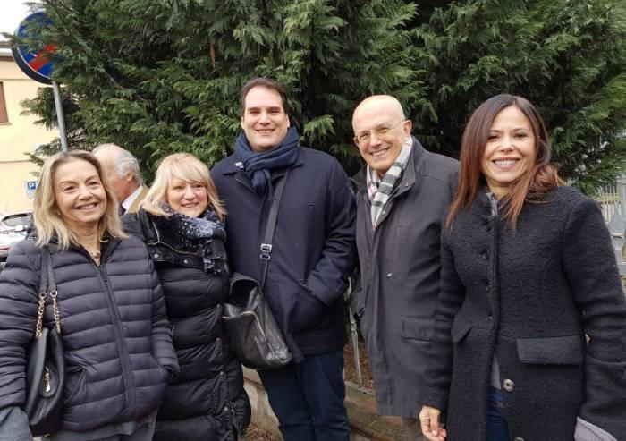 Prampolini va a Marzaglia da candidato sindaco. Gelo con Forza Italia