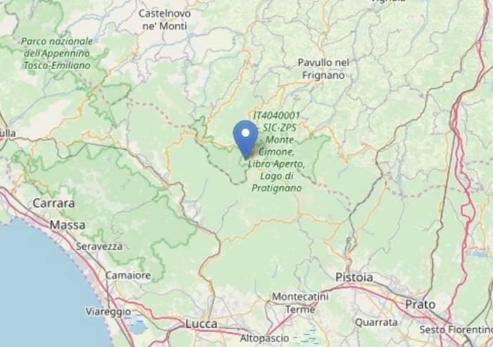 Scossa di terremoto, il Frignano trema
