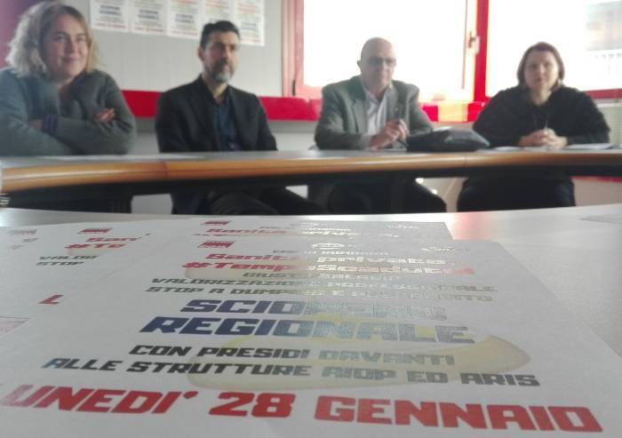 Sanità privata in sciopero: lunedì presidio a Villa Igea