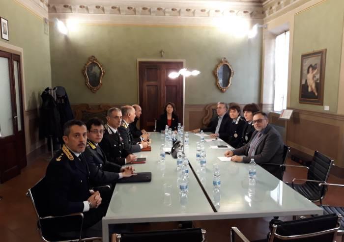 Comitato ordine e sicurezza pubblica a Sassuolo: reati in calo