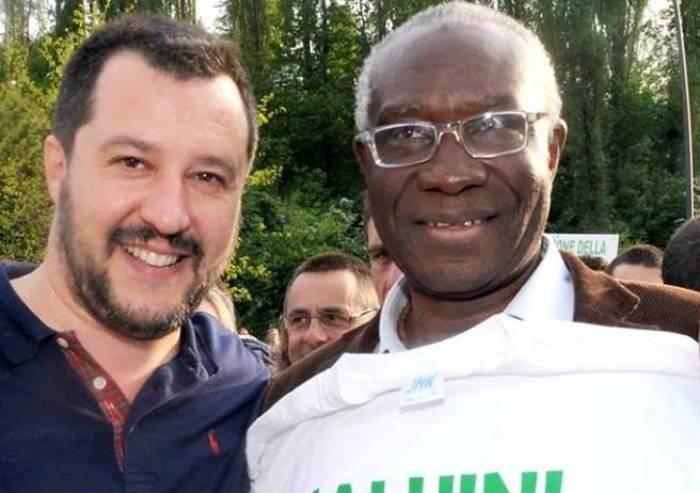Voto a Modena, il senatore leghista nigeriano per lanciare Prampolini