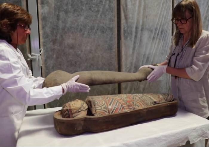 Mummia di bambino, a Modena parte il restauro