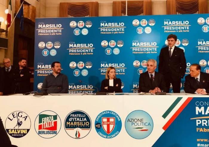 Regionali Abruzzo, la Lega stravince: asfaltati M5s e alleati