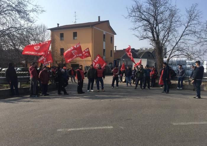Carpi, lavoratori logistica Gto in appalto in sciopero ad oltranza