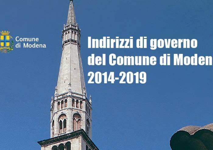 Le promesse 2014 di Muzzarelli: 'Rigenerazione urbana e saldo zero'