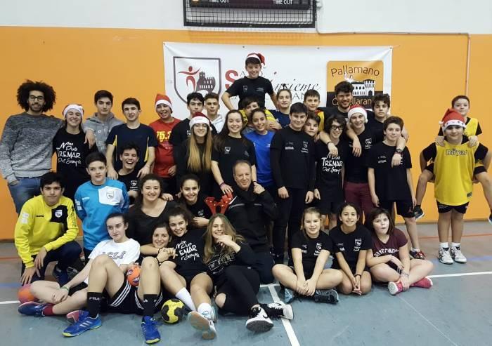 A Castellarano oltre 90 ragazzi hanno scelto la Pallamano