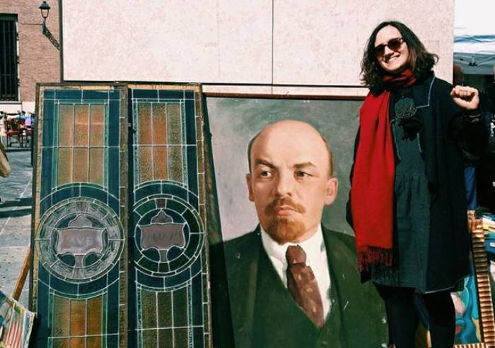 L'omaggio (scomodo) al dittatore Lenin della candidata sindaco MVP
