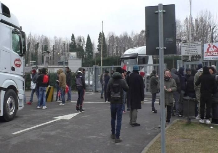 Presidio Italpizza, nessun arresto: la questura smentisce Montanini