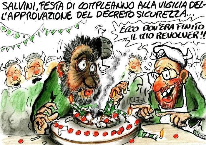 Tanti auguri Salvini!