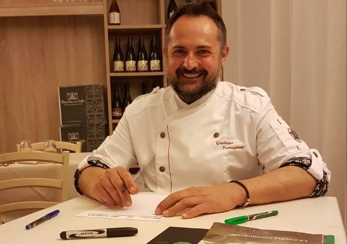 Giuliano Parmeggiani: 'Non parlate di vegano: la mia è una cucina vegetale'