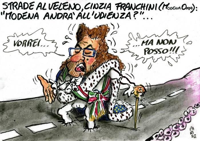 Strade al veleno, Muzzarelli vorrebbe andare all'udienza preliminare