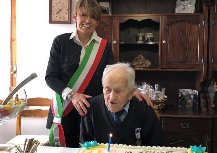 Prignano. Gino Costi festeggia i suoi primi 100 anni