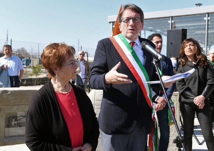 Inaugurato il monumento al Migrante