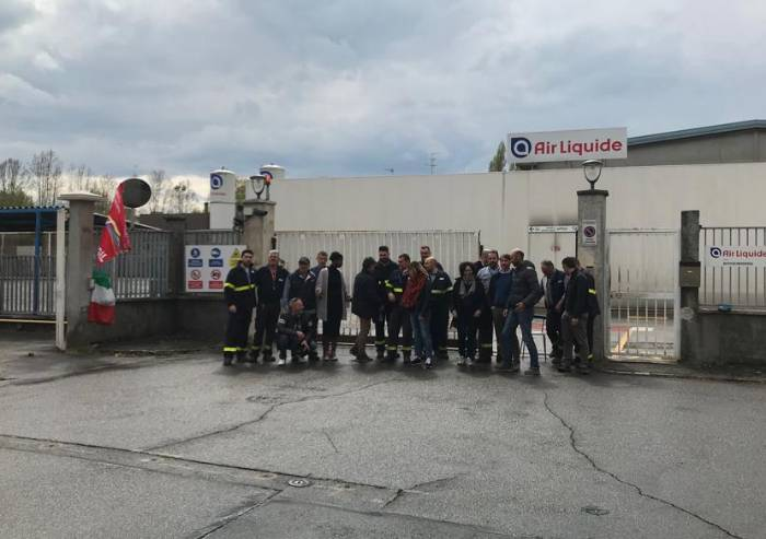 All'Air Liquide sciopero nazionale contro gli esuberi