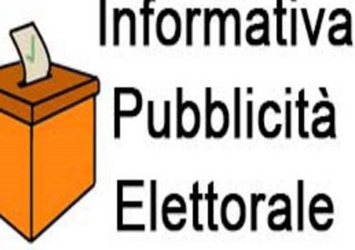 Pubblicità elettorale: gli spazi su La Pressa