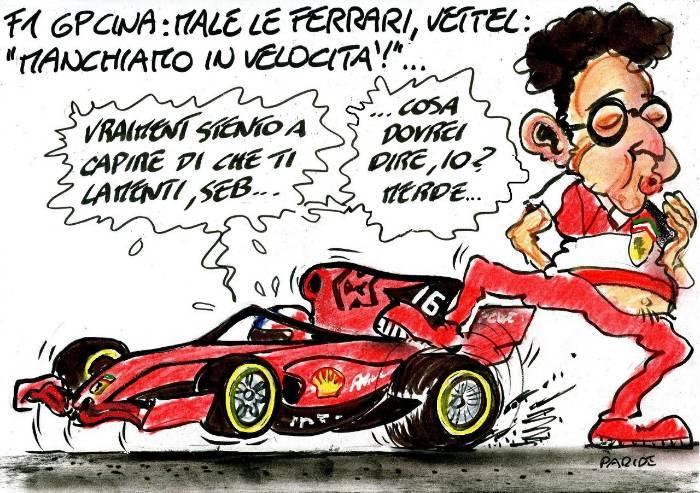 Un problema di velocità per la Ferrari
