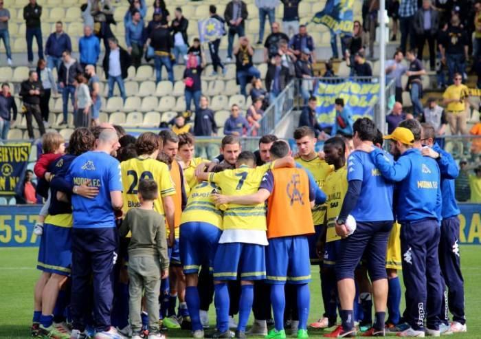 Il Modena vince e raddrizza la stagione: ora a Crema si gioca tutto
