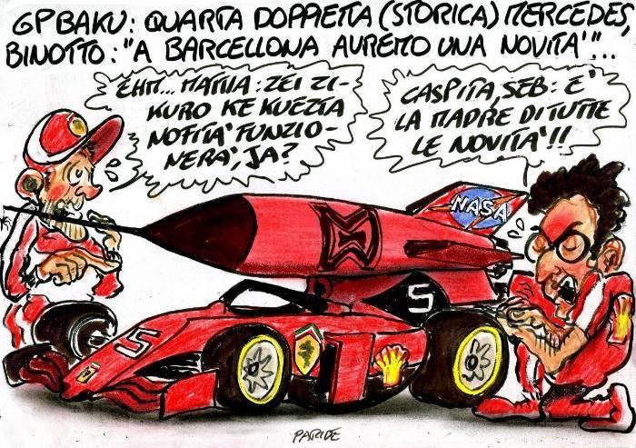 Un missile per la Ferrari