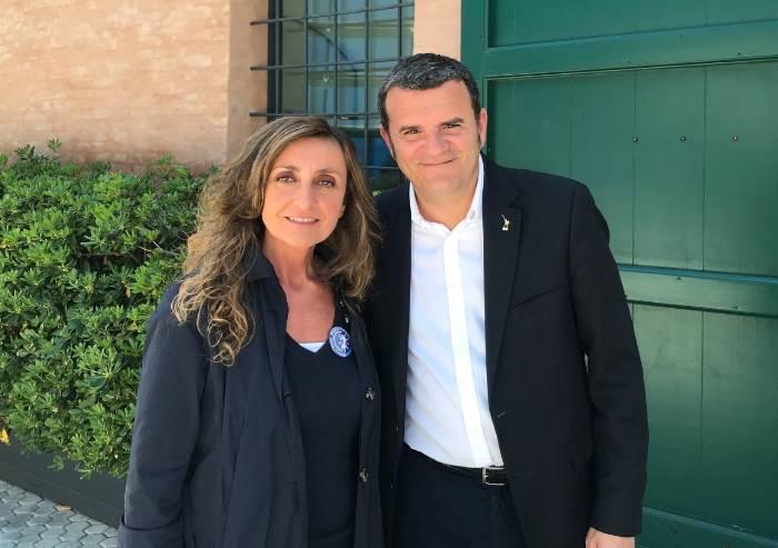 Il ministro Centinaio a Modena incontra Cinzia Franchini (Modena Ora)